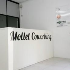Mollet Coworking - Recepción